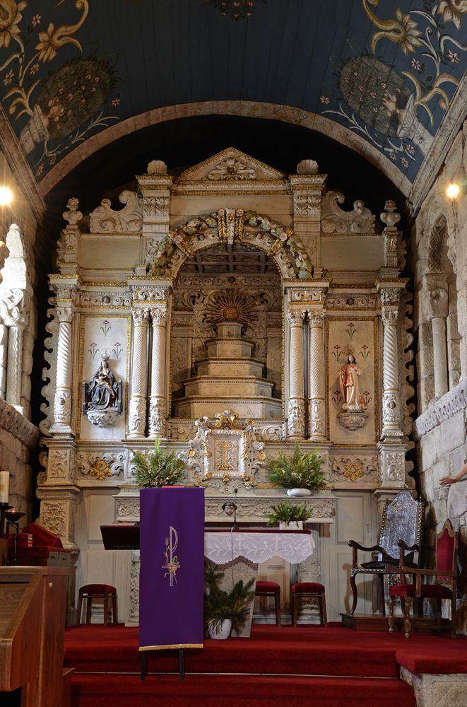 igreja altar mor