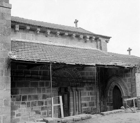 Igreja de Tarouquela - lateral, 1960
