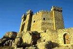 Castelo de Penedono à luz do fim da tarde