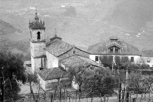 Igreja de Barrô em 1965