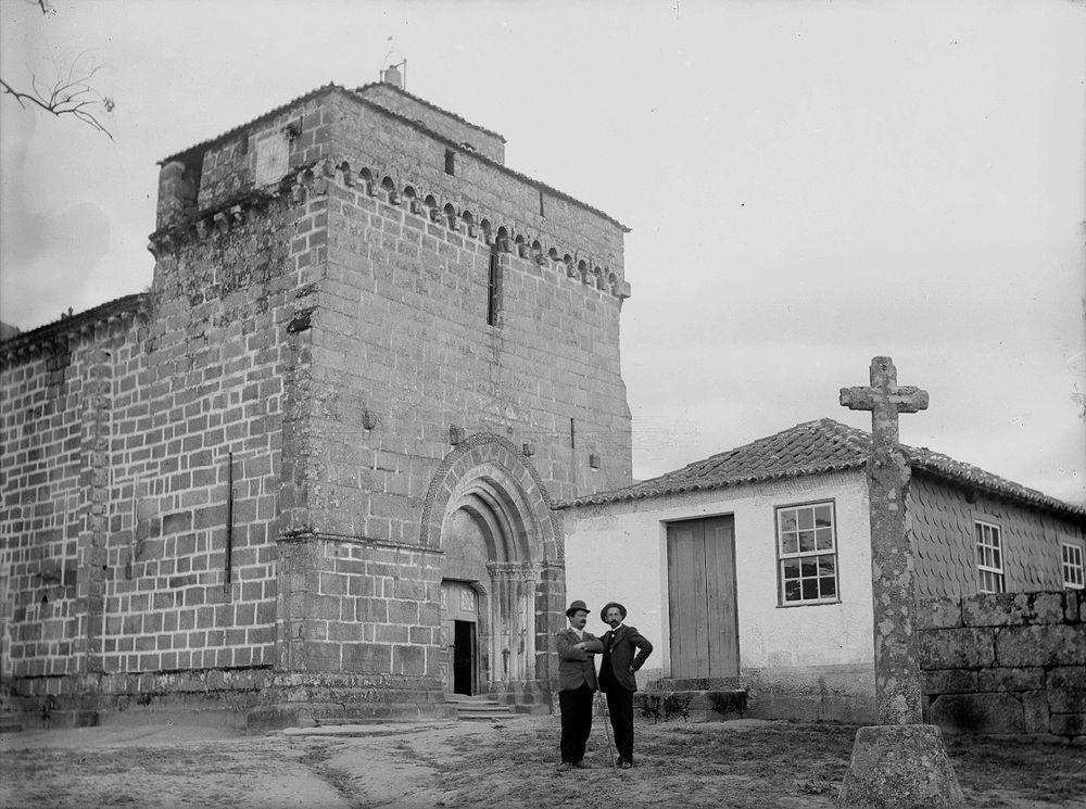 Igreja de São Martinho, foto antiga