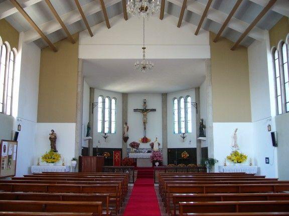 Igreja Matriz de Avelal - interior