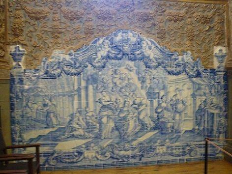 Azulejos na Igreja do Convento de Nossa Senhora da Conceição
