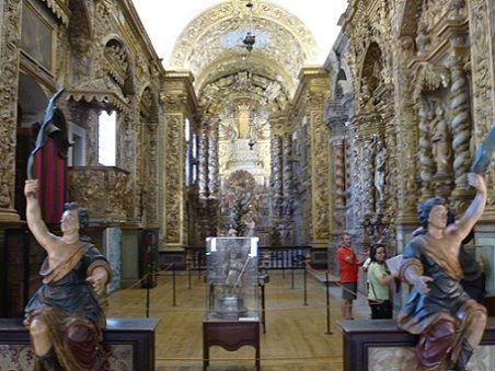 Interior da Igreja do Convento de Nossa Senhora da Conceição