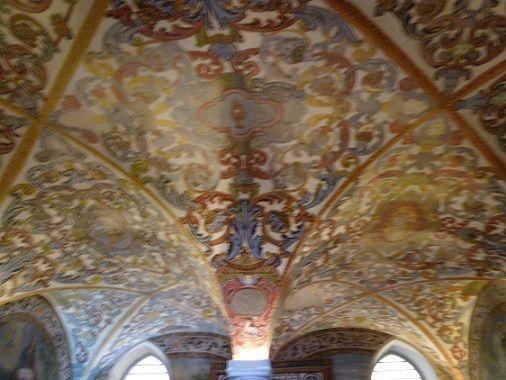 Pinturas no tecto da Igreja do Convento de Nossa Senhora da Conceição