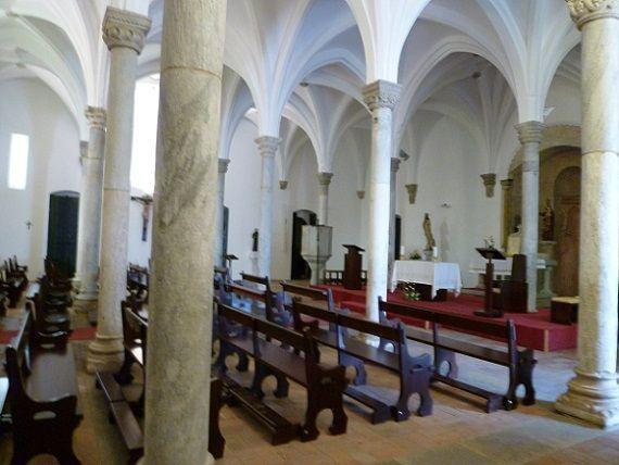Igreja Matriz - interior, formato muçulmano