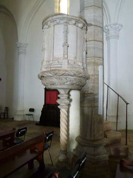 Igreja de São João Baptista, púlpito