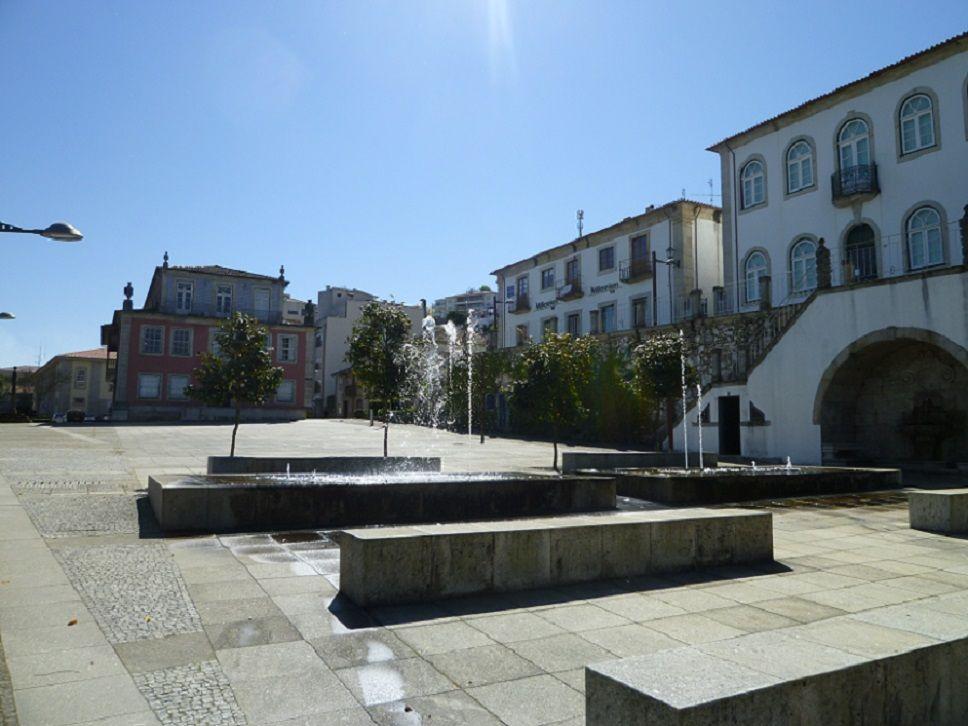 Praça da vila Celorico de Basto