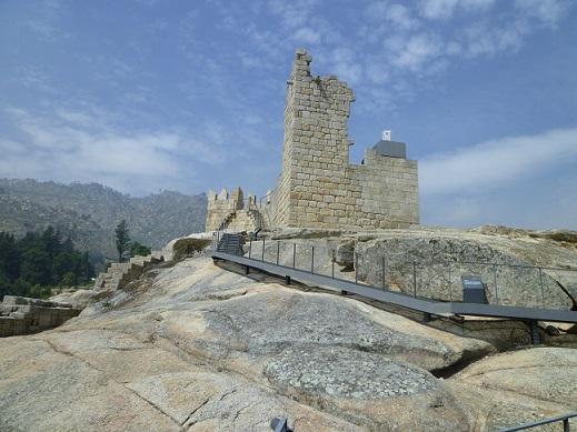 Castelo, uma das partes que restou