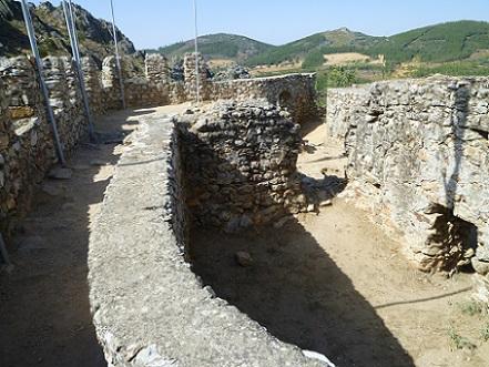 Castelo de Penha Garcia, interior