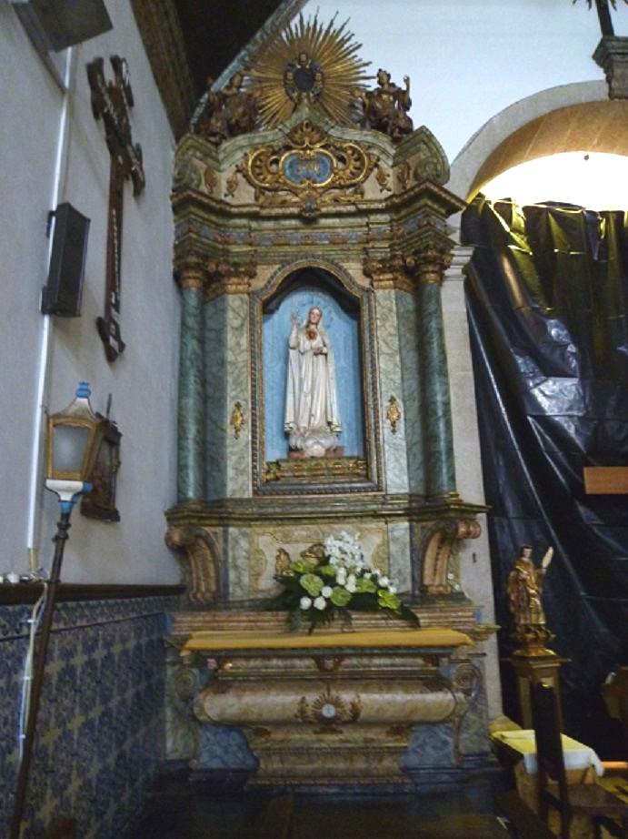 Igreja Matriz - altar lateral