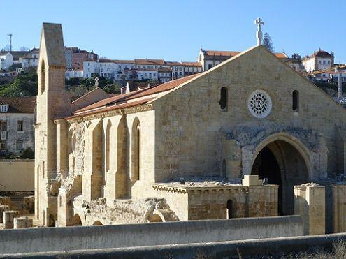 Mosteiro de Santa Clara-a-Velha - lateral esquerda