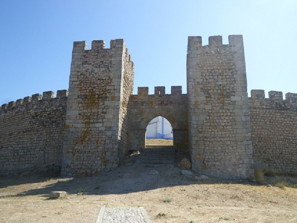 Castelo - porta de Santarém