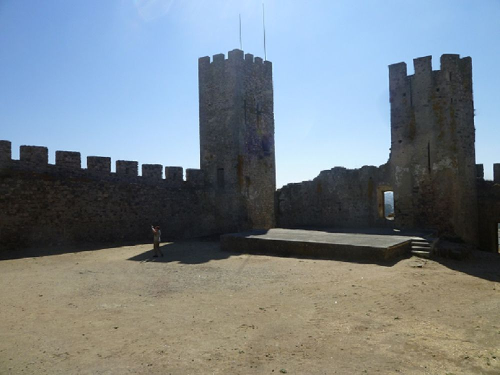 Castelo - paço - interior