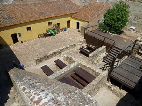 Interior do Castelo Velho