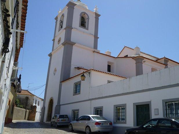 Igreja Matriz de Lagoa - traseira