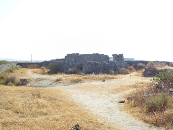 Interior do Forte do Rato