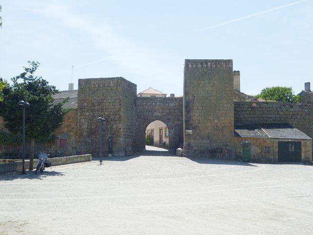 Entrada na aldeia
