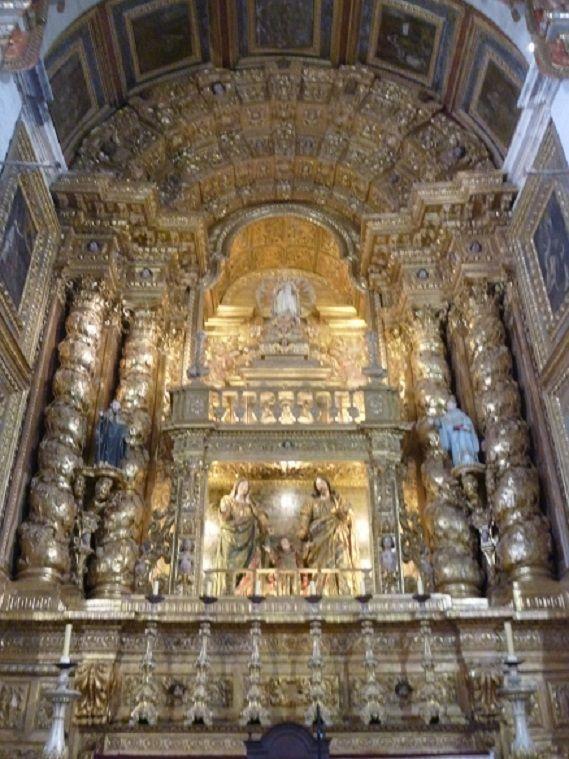 Mosteiro de Santa Maria de Cós - altar-mor