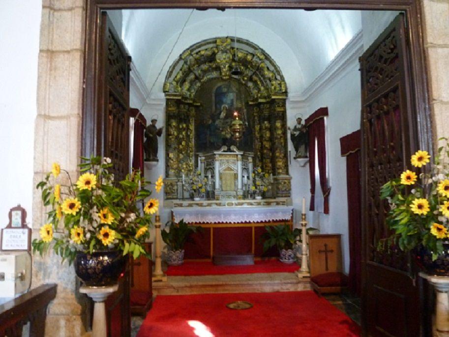 Igreja Matriz - capela lateral esquerda