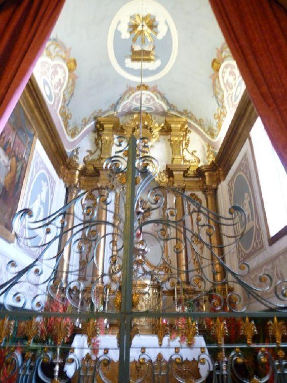 Igreja Matriz Nossa Senhora do Monte - interior