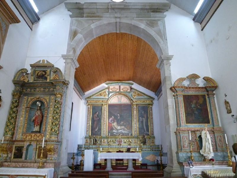 Igreja Nossa Senhora da Piedade - altar-mor