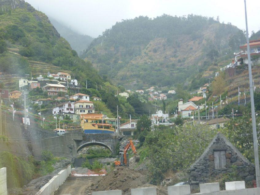 Caminho para S. Vicente