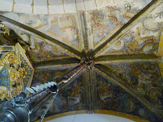 Igreja Matriz de Arronches - teto