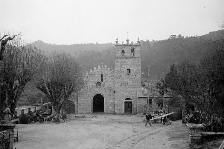 Mosteiro de Mancelos em 1982