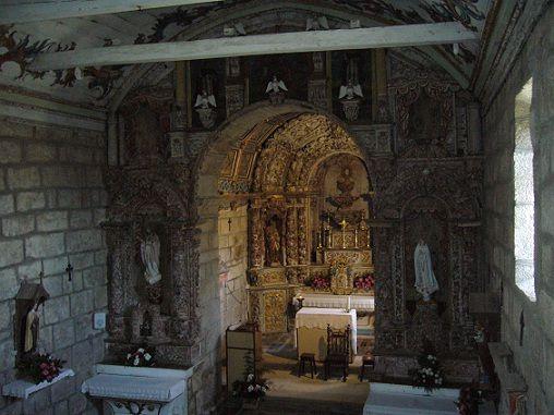 Igreja de Valadares - interior