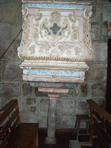 Igreja de Valadares - púlpito