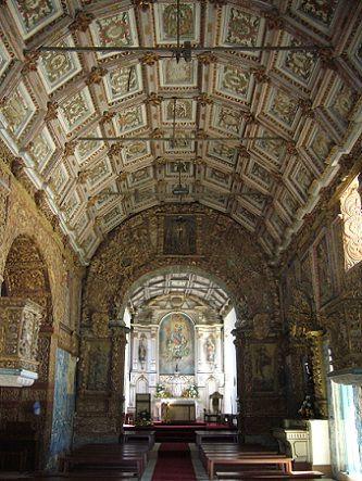 Igreja de Soalhães - interior