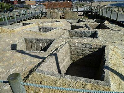 Tanques romanos da Praia de Angeiras, Lavra