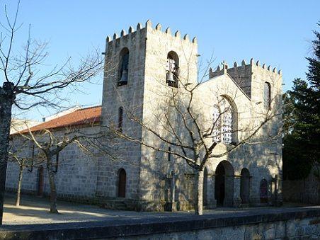Mosteiro de Pedroso - Fachada