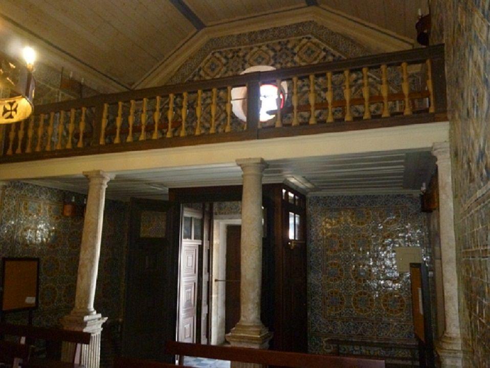 Igreja Matriz - interior - coro