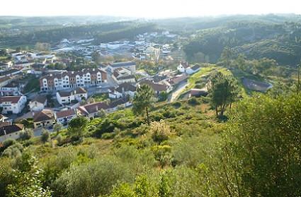 Vista panoramica da Vila, do Castelo