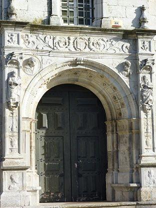 Igreja Matriz de Atalaia - porta
