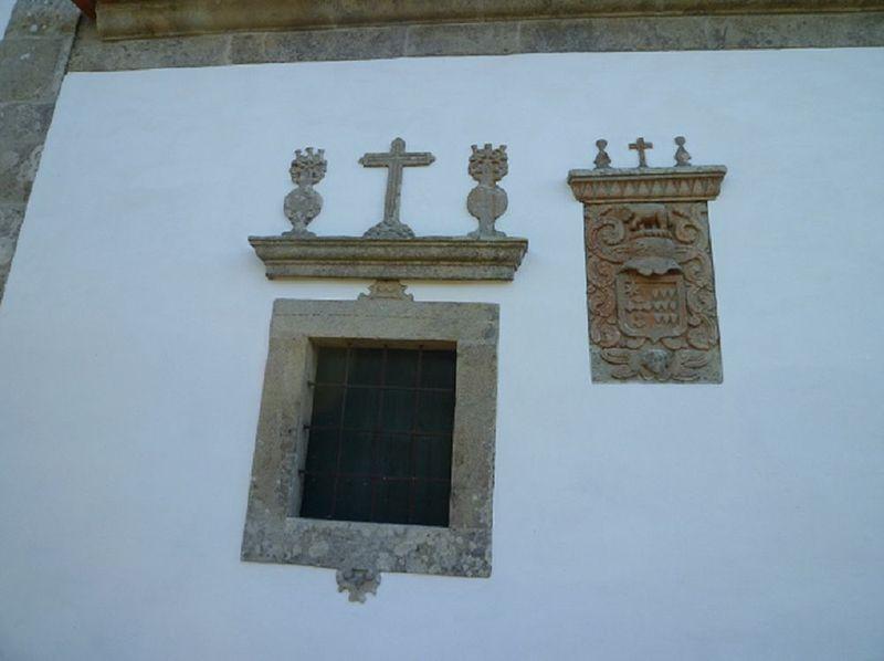 Casa Grande de Romarigães - janela
