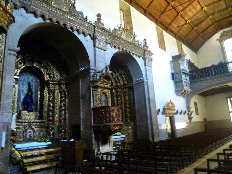 Igreja do Mosteiro - Lateral direita