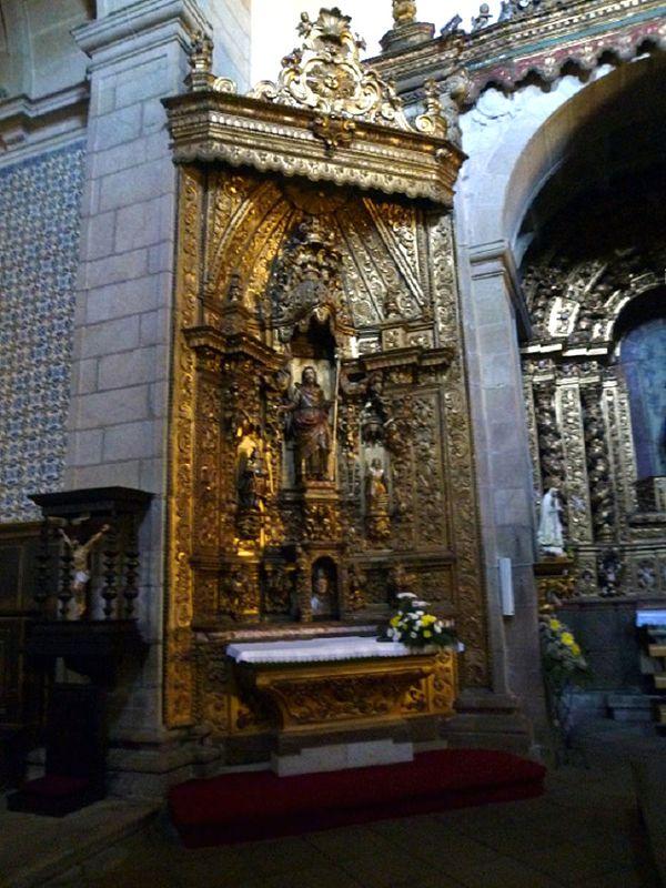 Igreja do Mosteiro - Altar colateral direito
