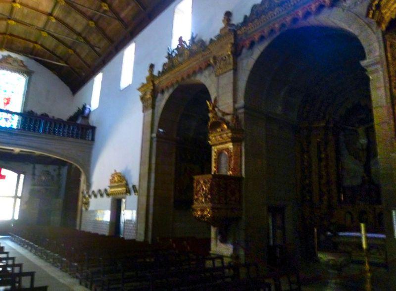 Igreja do Mosteiro - Lateral esquerdo