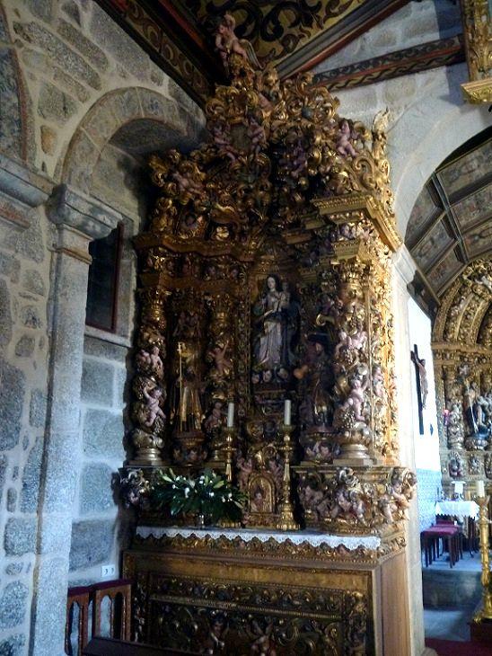 Igreja de São João da Ribeira - Retábulo Lateral Esquerdo