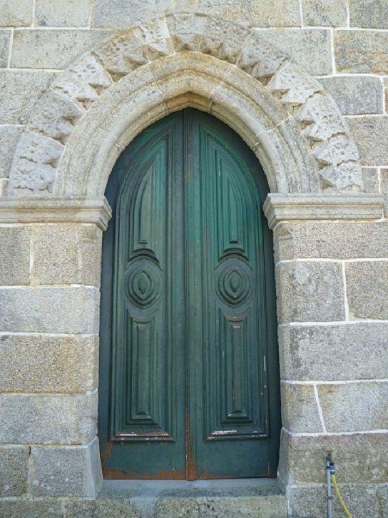 Igreja Matriz de São Cristovão - porta