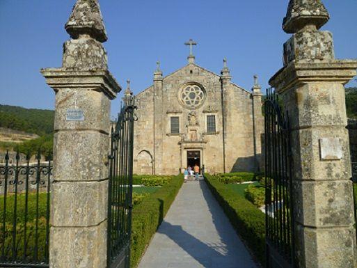 Mosteiro de S. João de Tarouca - entrada